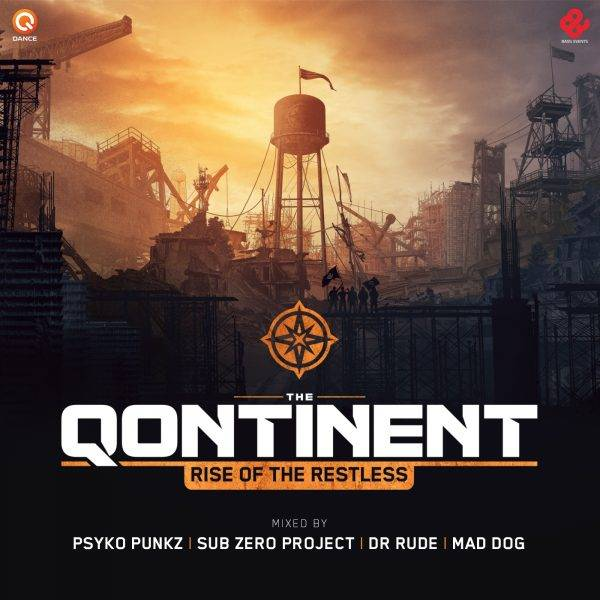 The Qontinent - Rise Of The Restless CD