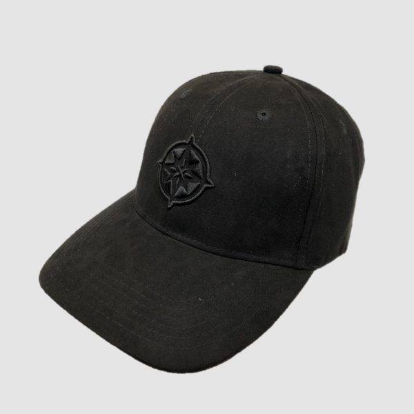 The Qontinent - Black Suede Baseball Cap