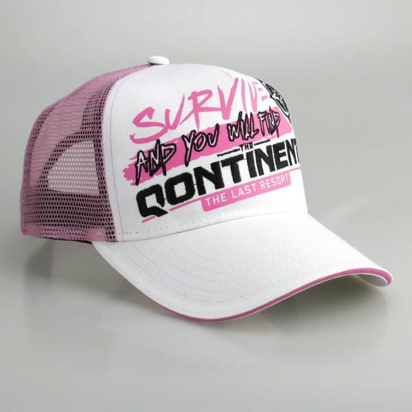 The Qontinent - Survive Cap Pink