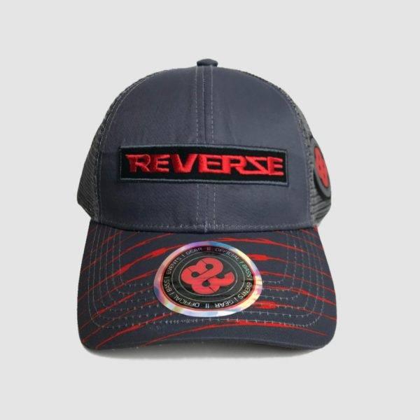 Reverze - Shocking Red Trucker Cap