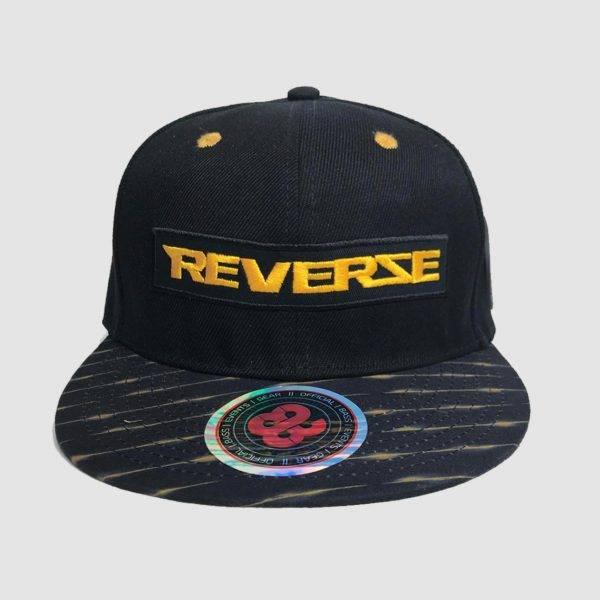 Reverze - Shocking Black / Yellow Snapback