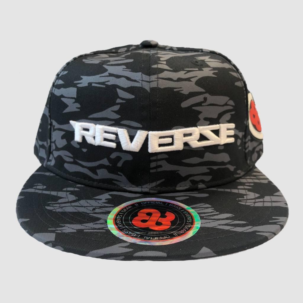 Reverze Black Camo Snapback