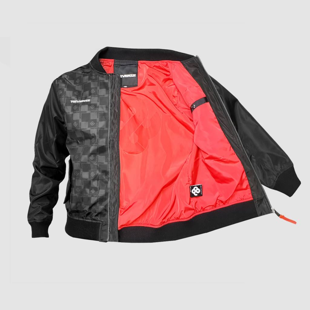 Reverze - Checkerz Bomber Jacket