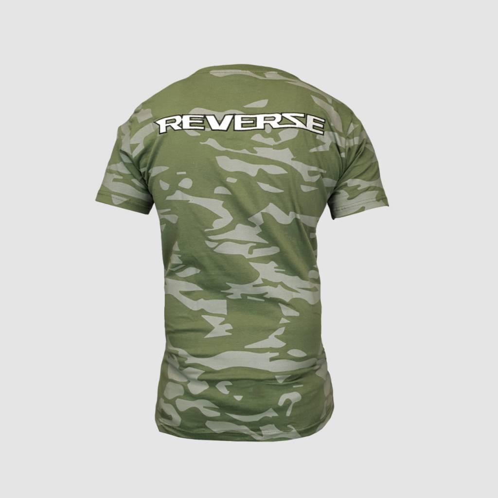 Reverze - Camo Green T-Shirt