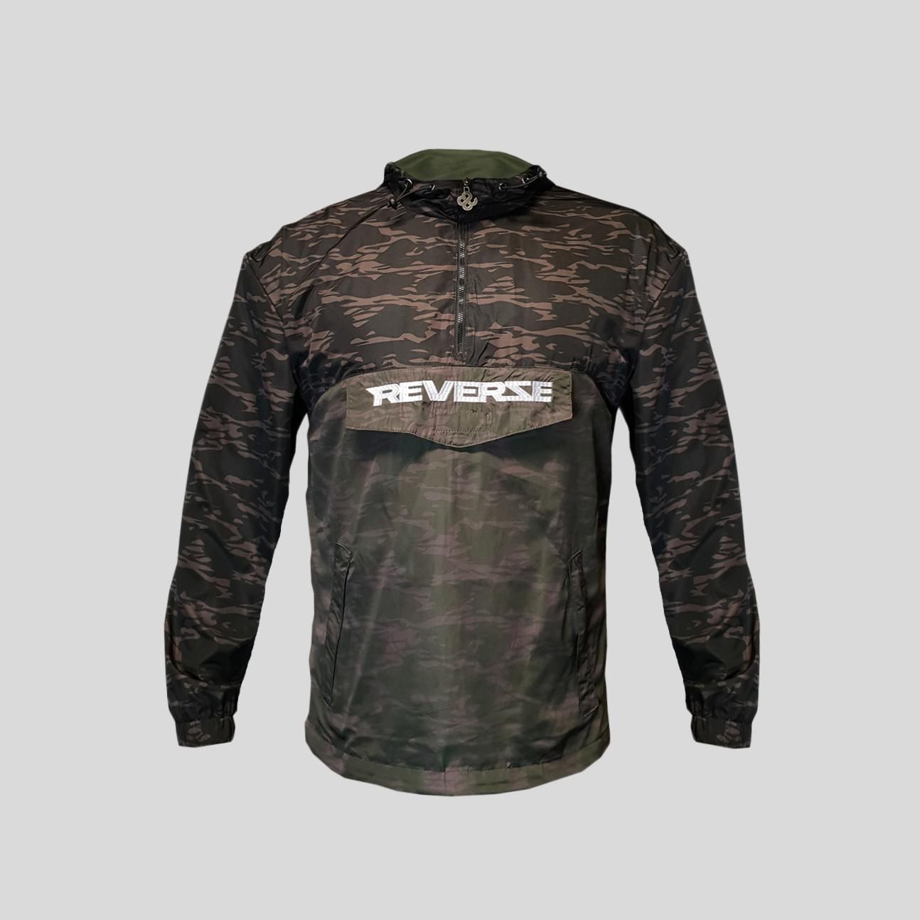 Reverze -  Anorak Windbreaker Jacket