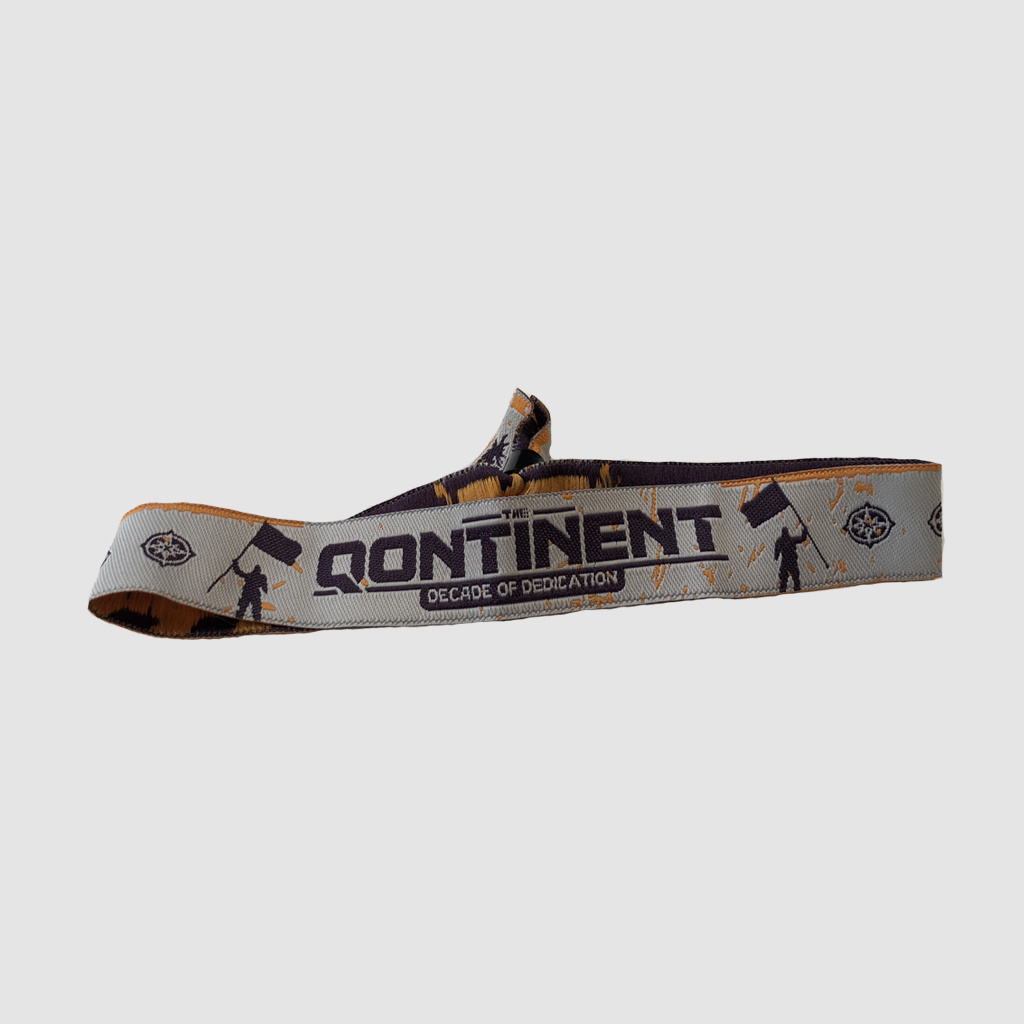 The Qontinent - Decade Of Dedication Official Bracelet