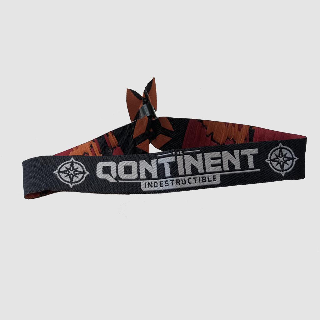 The Qontinent - Indestructible Official Bracelet