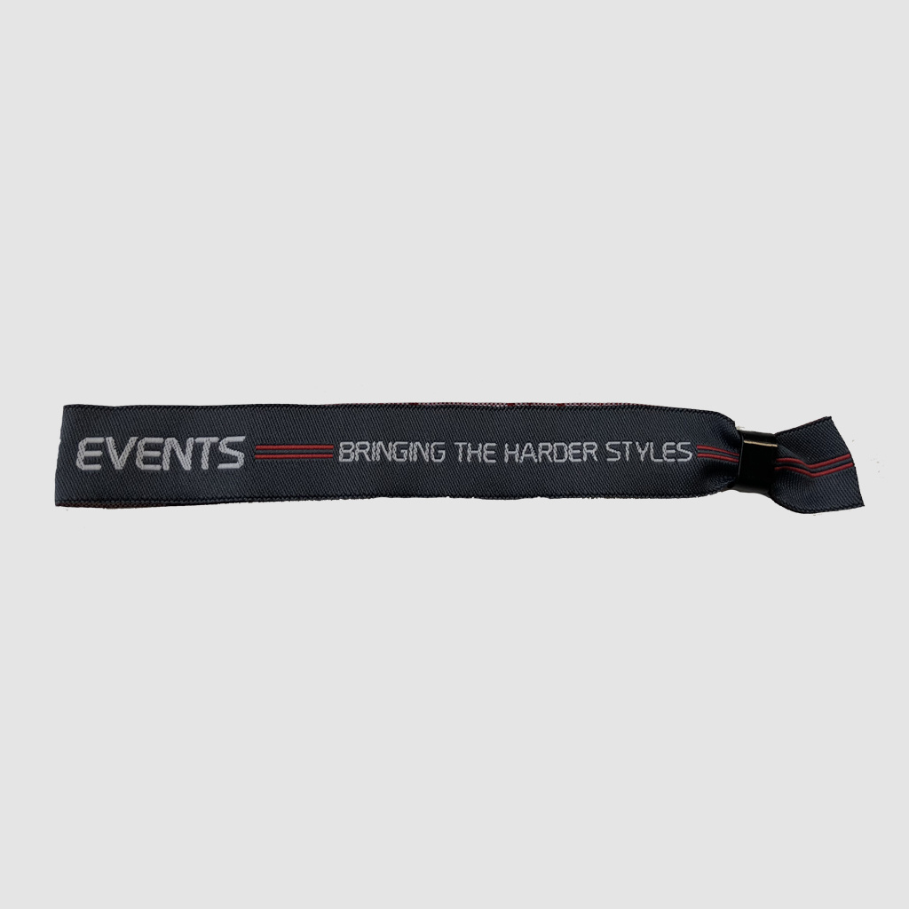 Bass Events - Grey Logo Bracelet