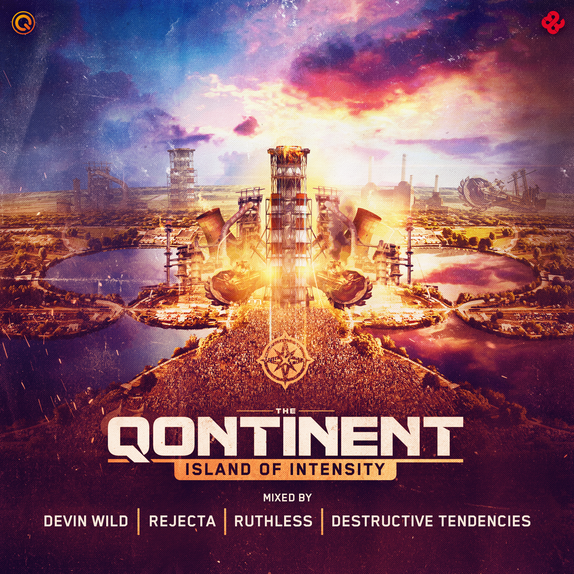 The Qontinent - Island Of Intensity CD