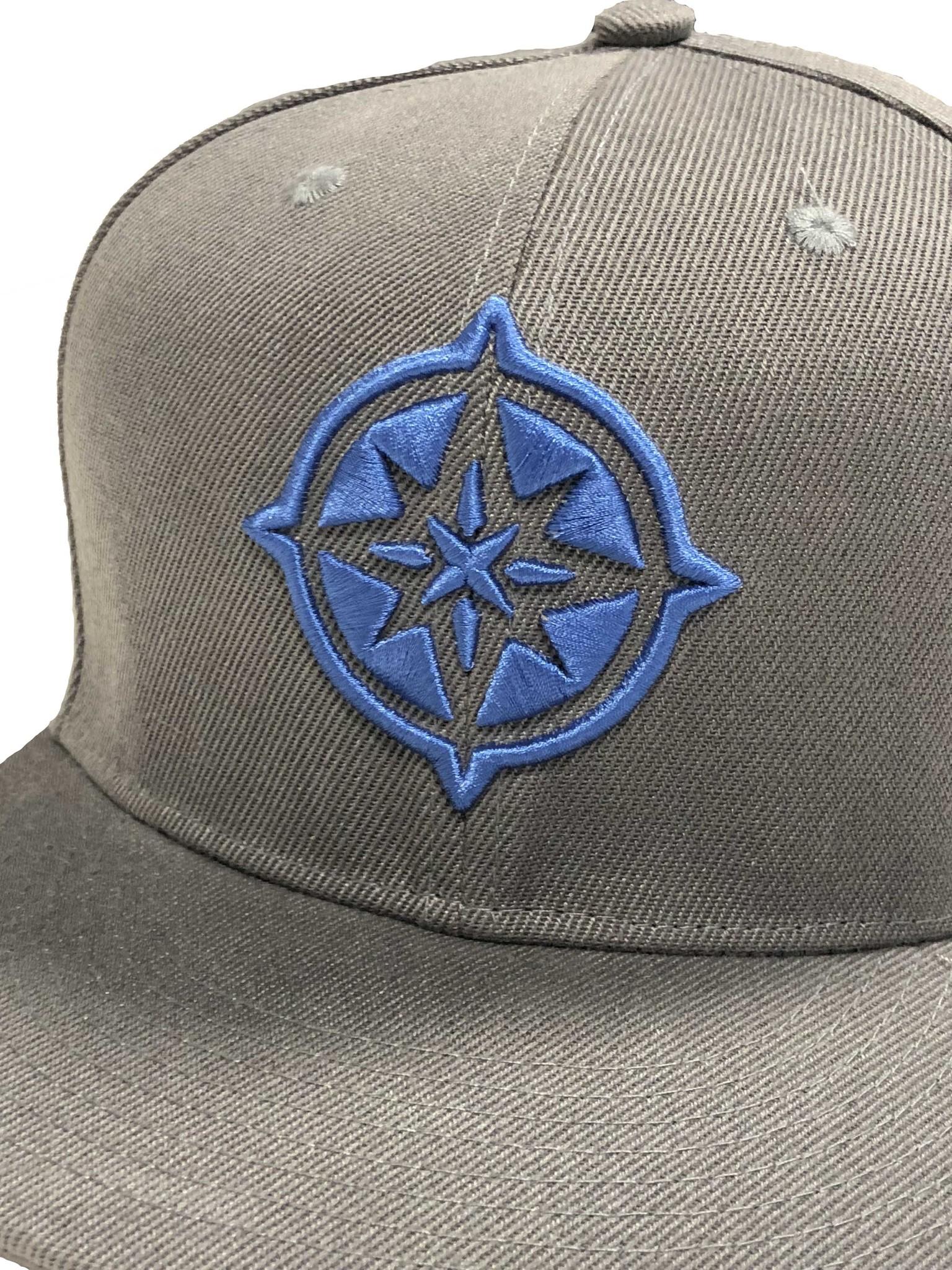The Qontinent - Island Blue Logo Snapback