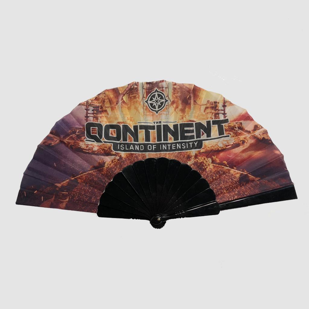 The Qontinent - Island Of Intensity Black Fan