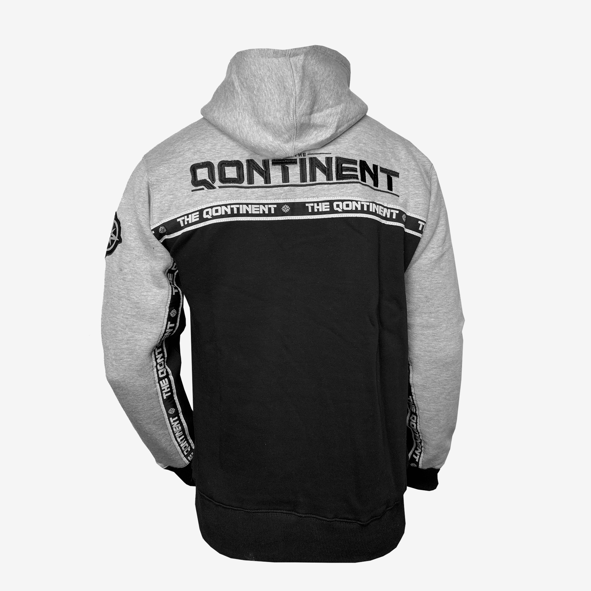 The Qontinent - 2019 Grey 2 Tone Hoody