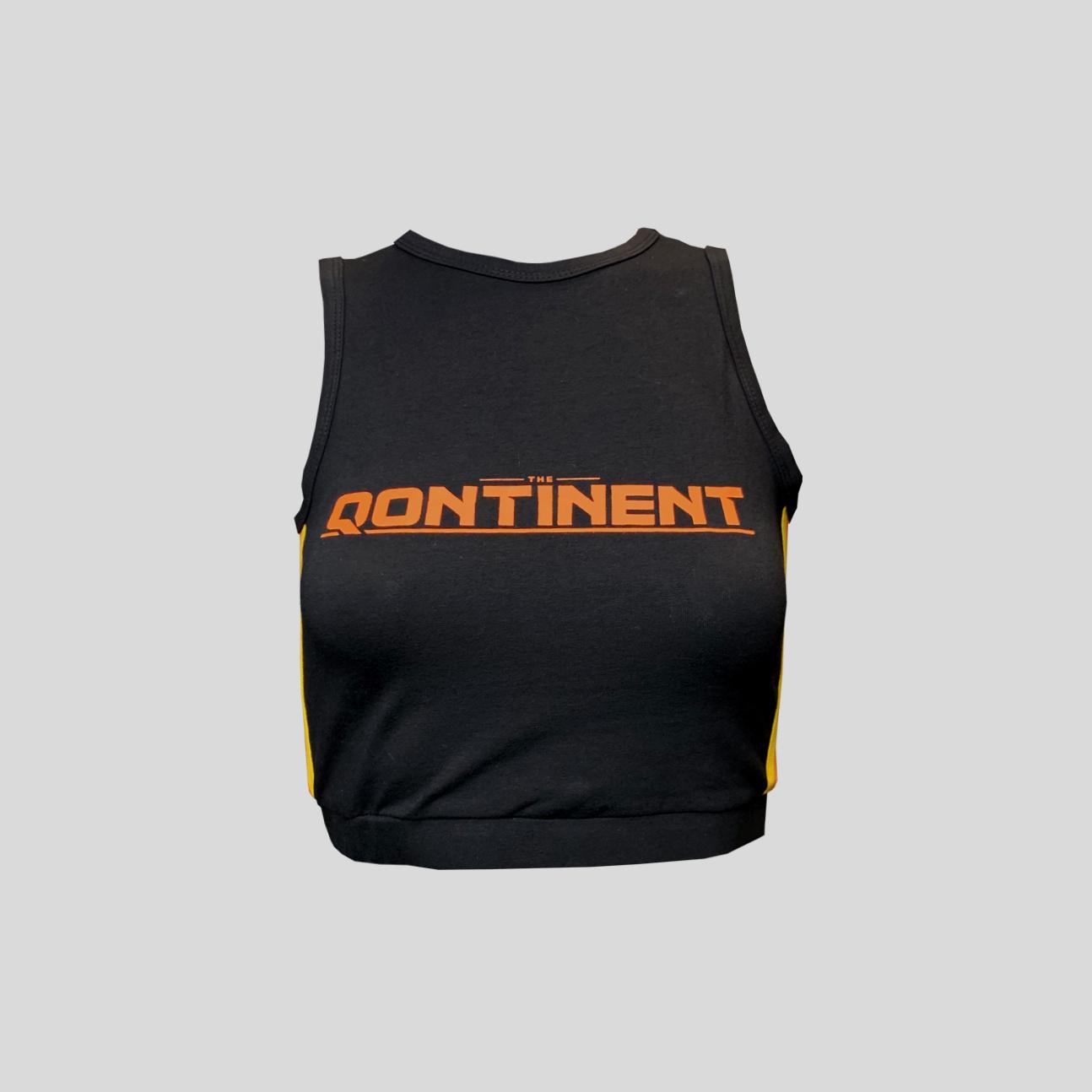 The Qontinent - 2019 Black Crop top