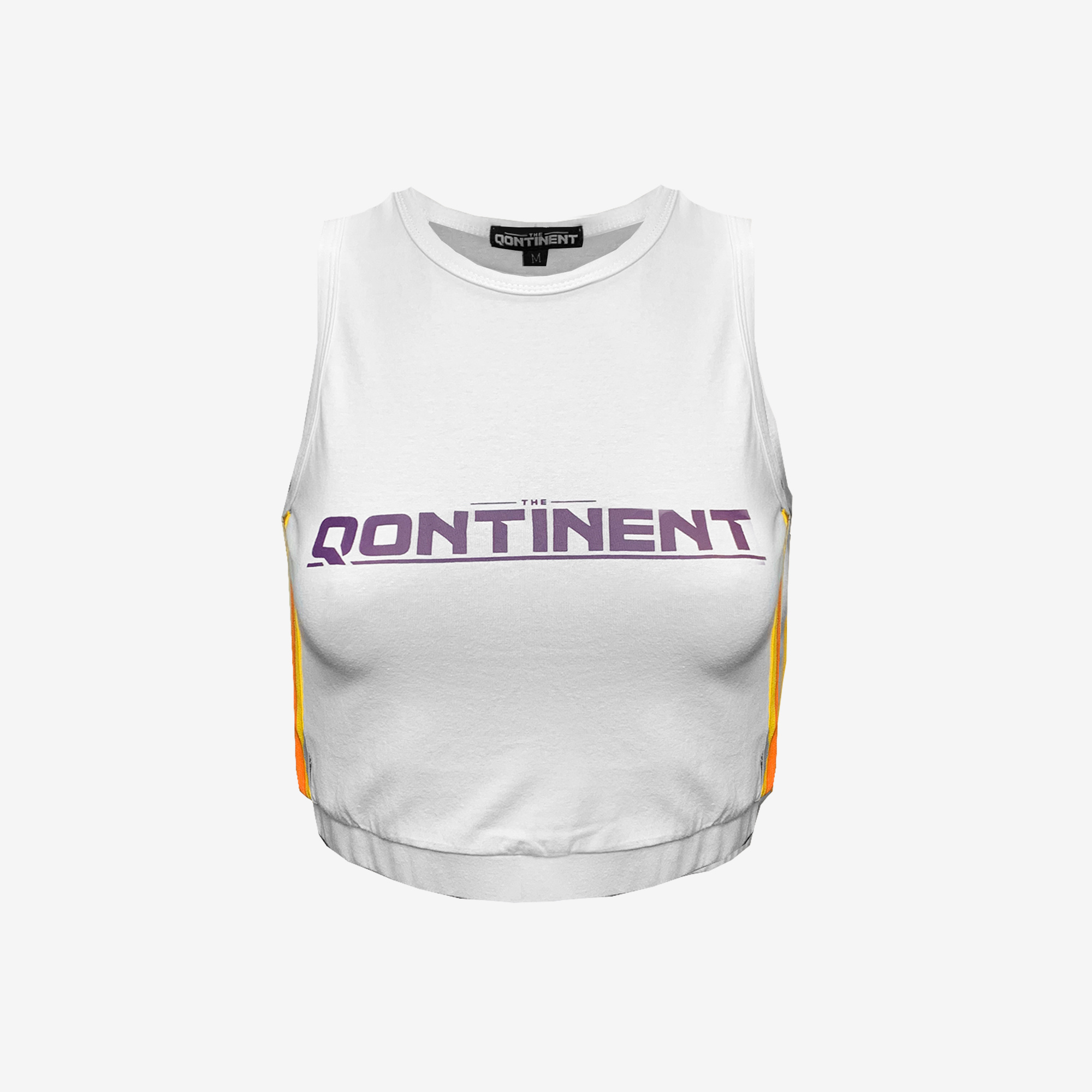 The Qontinent - 2019 White Crop Top