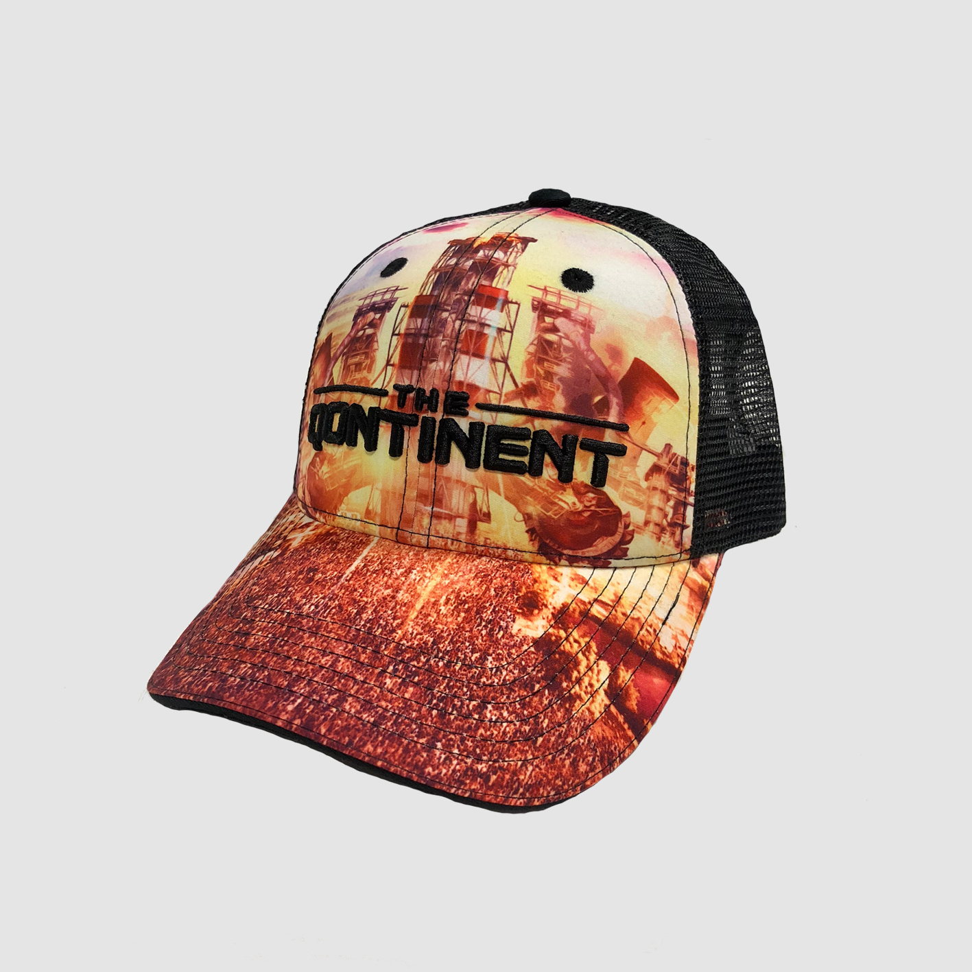 The Qontinent - Island Of Intensity Truckercap