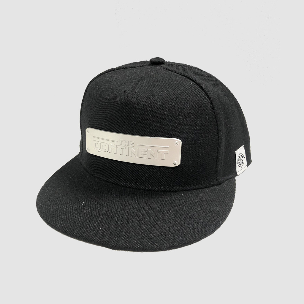 The Qontinent - Metal Plate Snapback