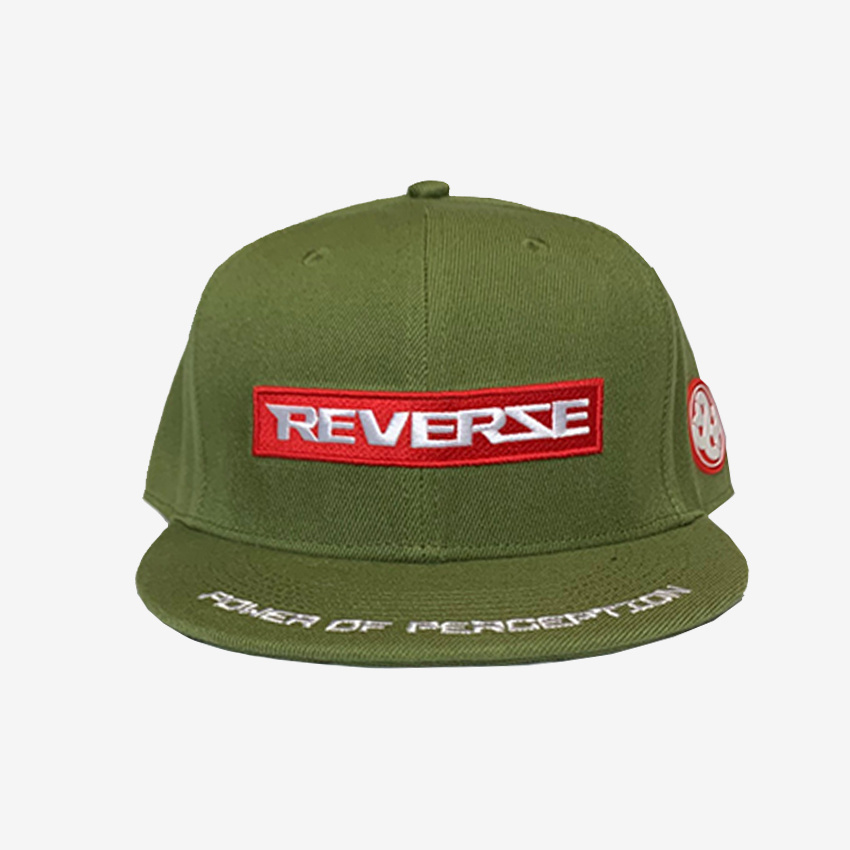 Power Of Perception Green Snapback