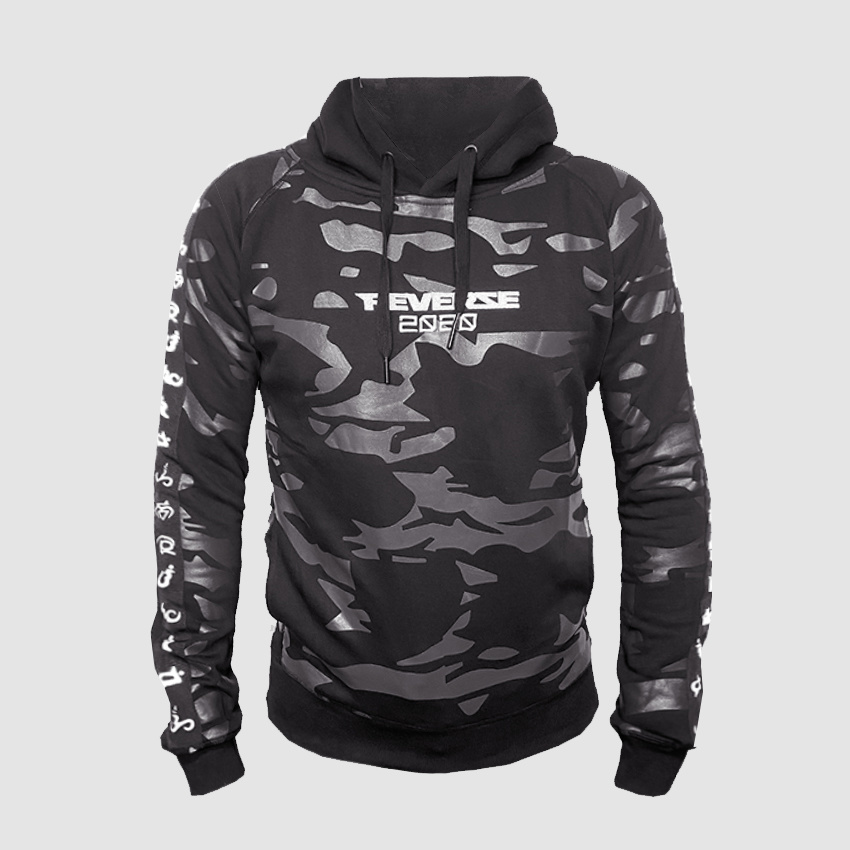 Power Of Perception - Camo Hoodie