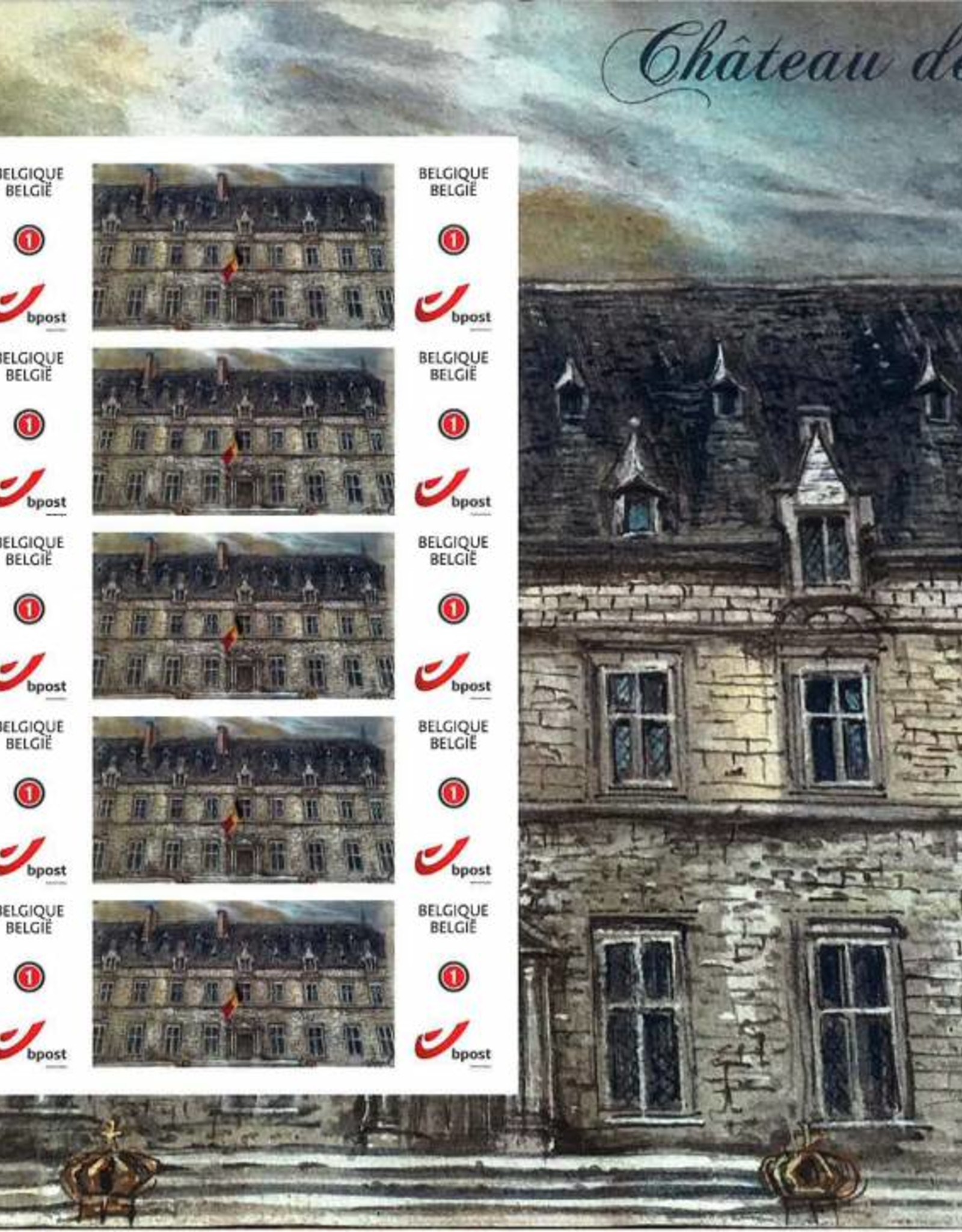 Timbres palette Thierry Bosquet