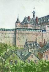 Carte postale C6-10x15 Château façade Thierry Bosquet