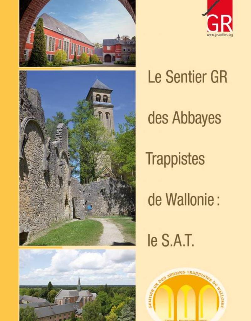 GR sentiers L-Le sentier GR des Abbayes Trappistes de Wallonie
