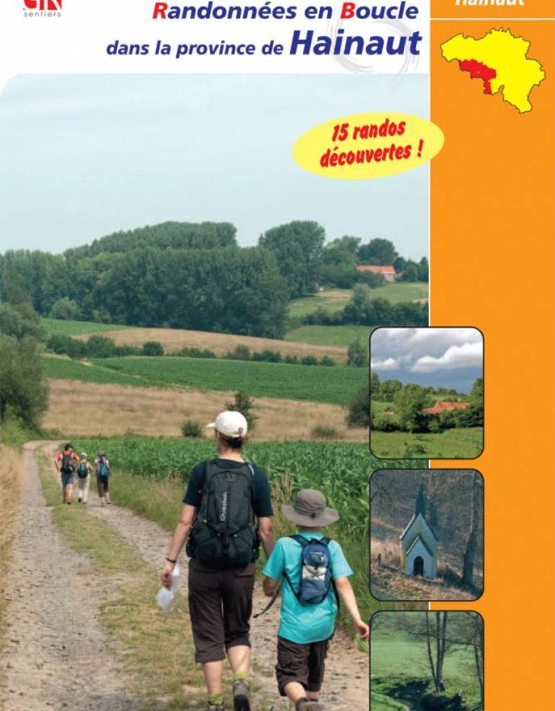 GR sentiers L-Topo guide Randonnées en boucle dans la province de Hainaut