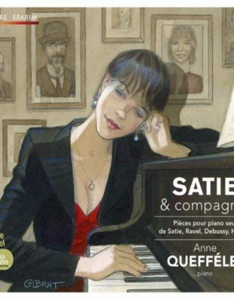 Album CD A.Queffélec Satie