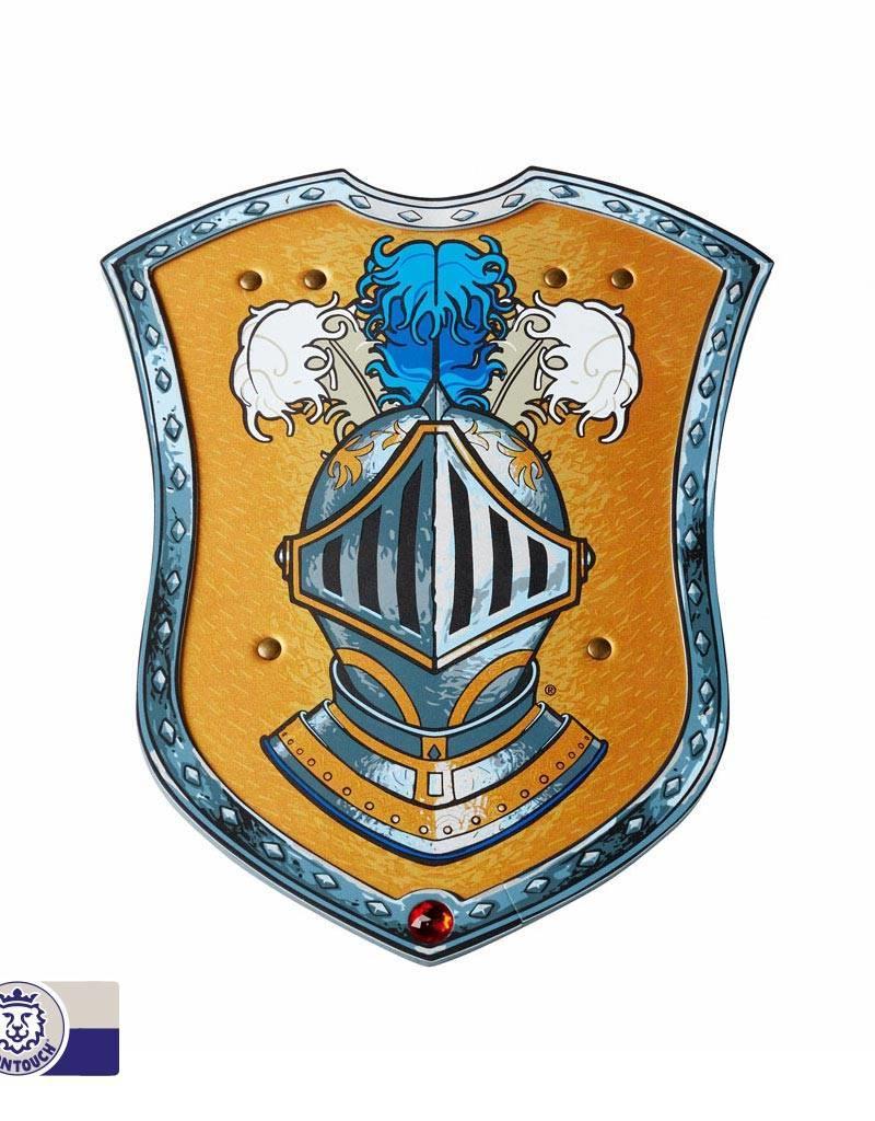 Bouclier mousse chevalier bleu