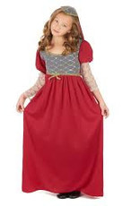 Robe Princesse médiévale taille 7-9ans