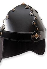 Casque normand lin noir