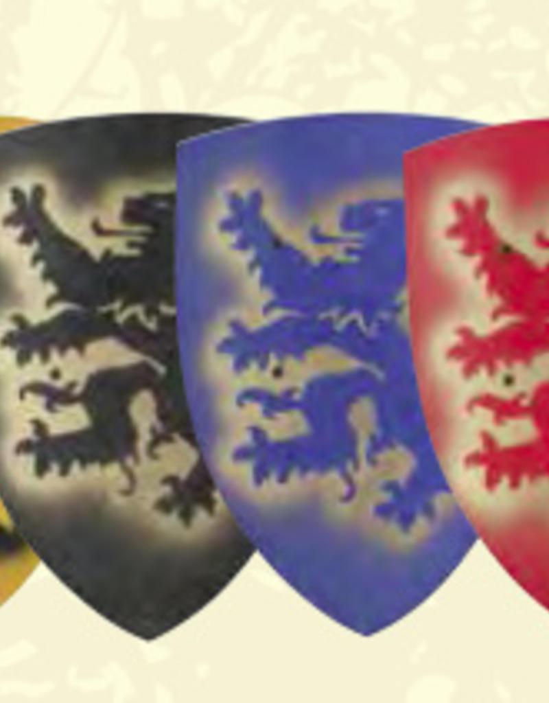 VAH Bouclier 50cm Lion bleu B