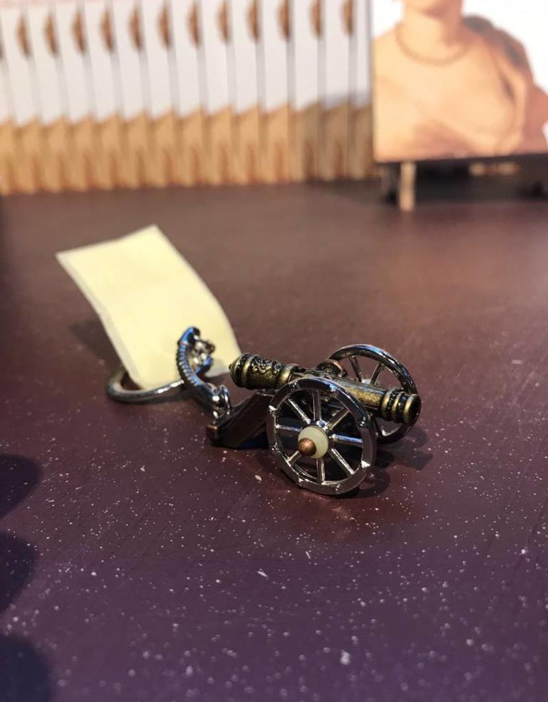 Porte-clé 3D canon