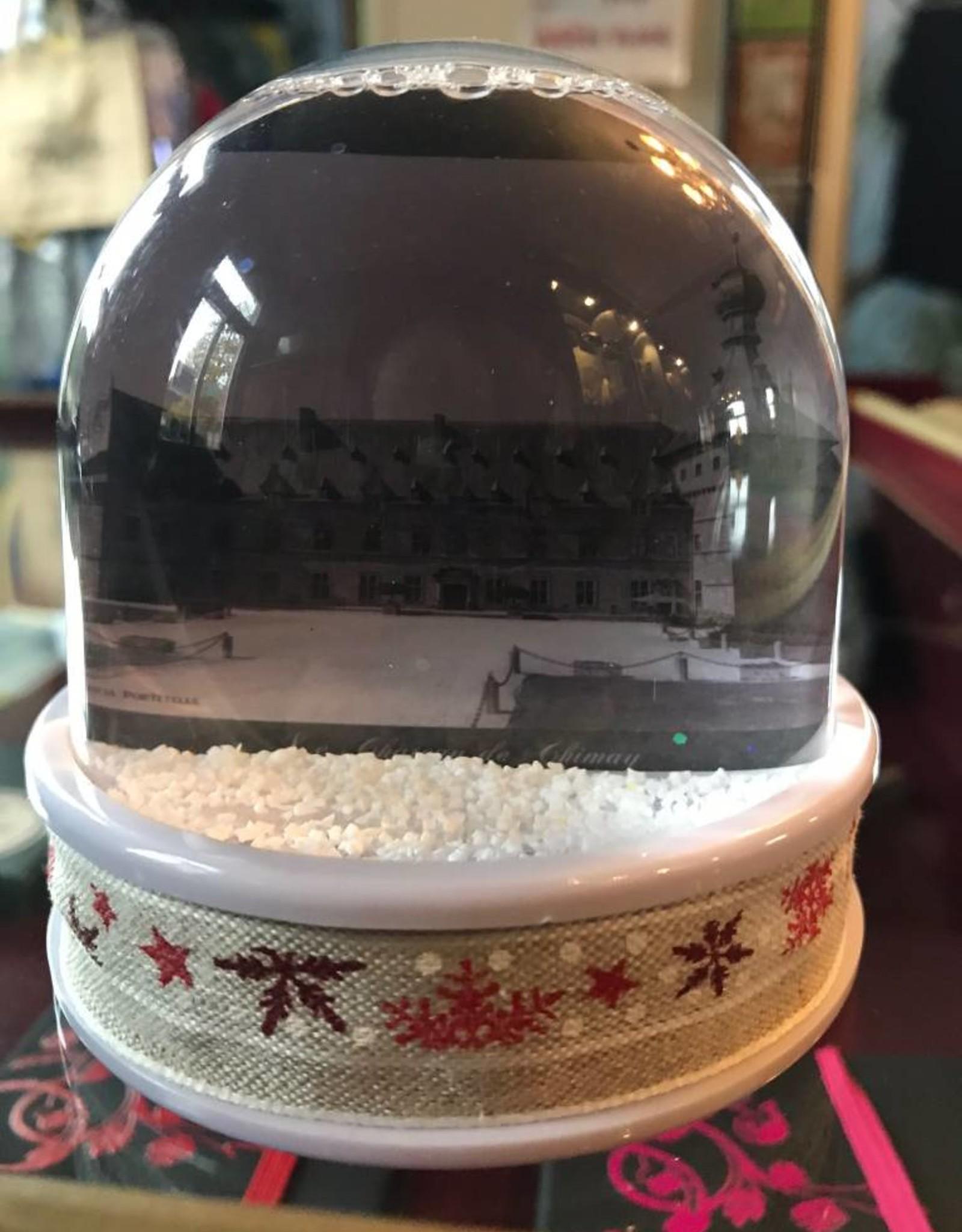 Boule neigeuse grande