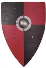Bouclier 50cm normand+métal