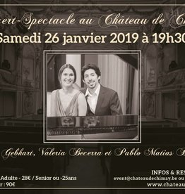 Concert-spectacle GRANADOS 26/01/2019