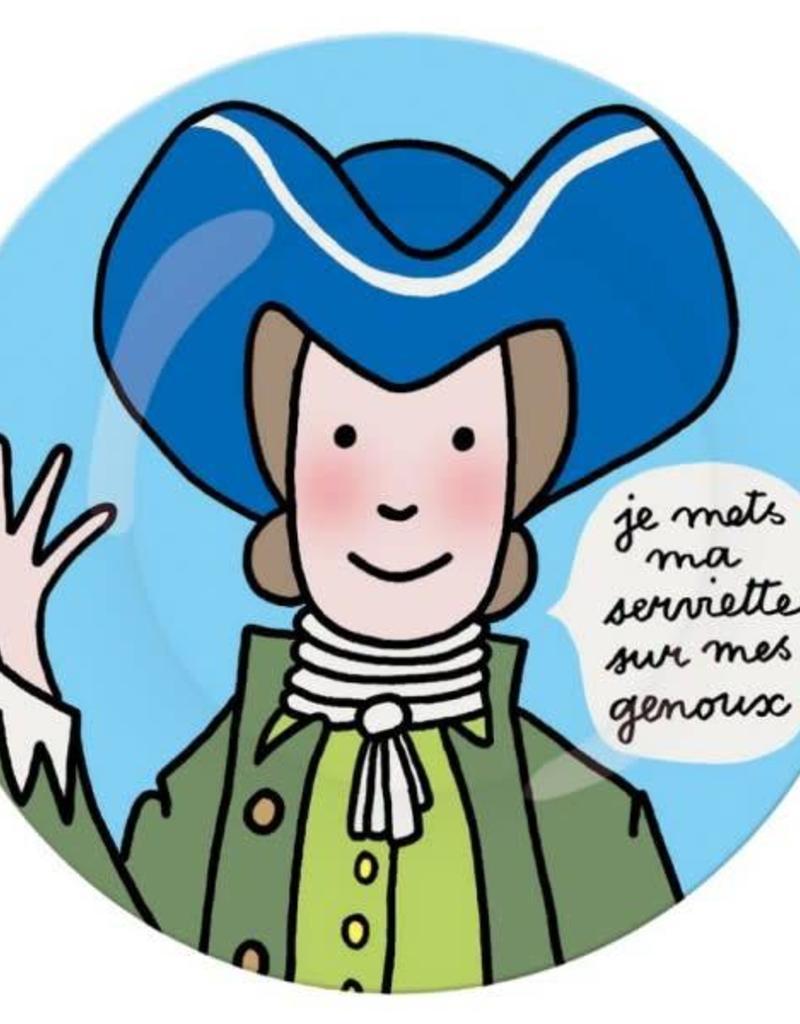 Petit Jour Paris Assiette G serviette
