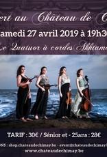 Quatuor à cordes AKHTAMAR 27/04/2019