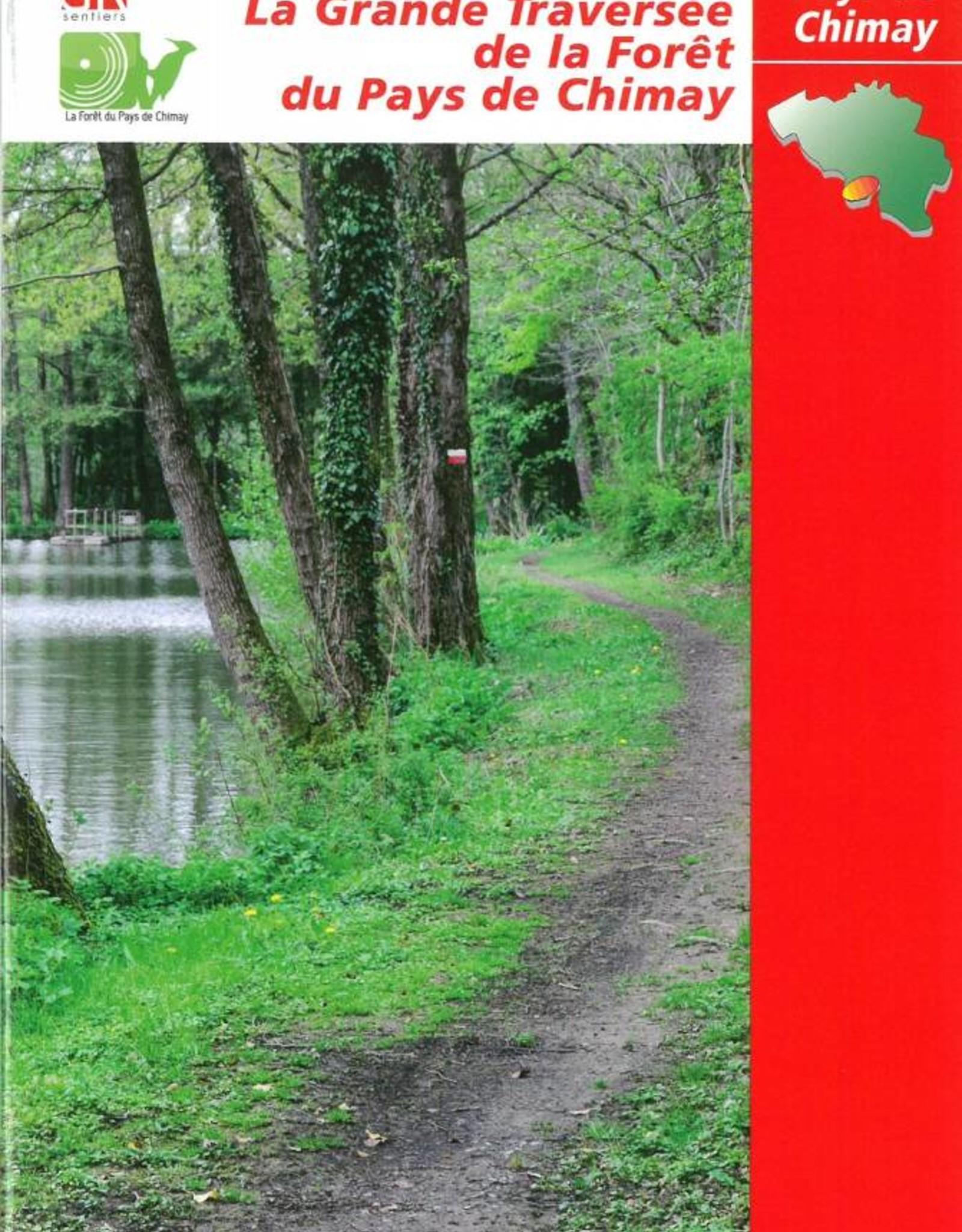 GR sentiers L-Topo guide La grande traversée de la forêt du pays de Chimay