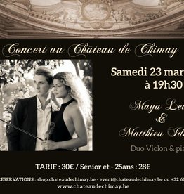 Duo Maya Levy et Matthieu Idmtal 23/03/2019