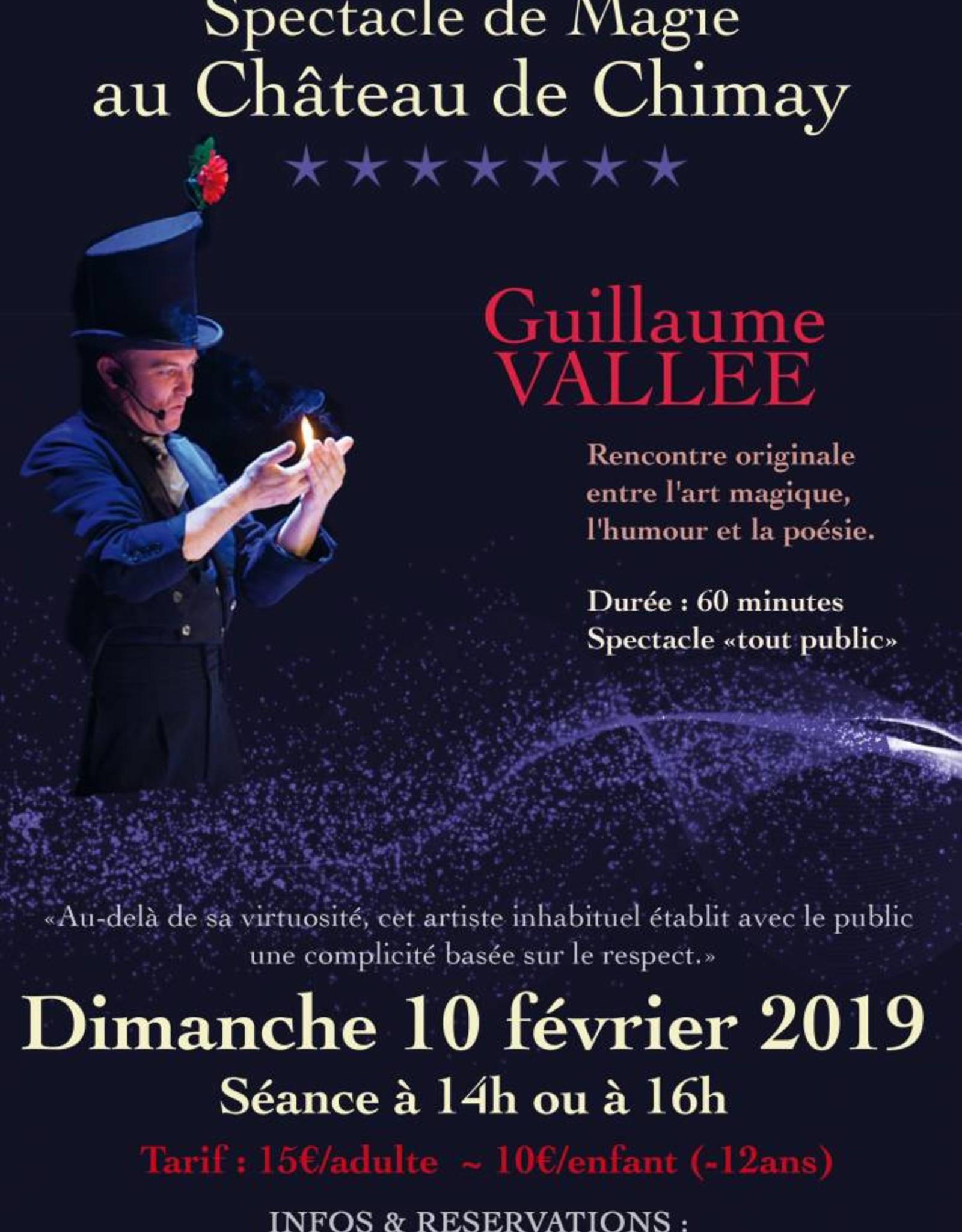 Spectacle de magie 10/02/19 - séance de 14h