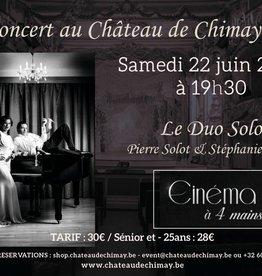 Cinéma à 4 mains DUO SALMIN/SOLOT 22/06/2019