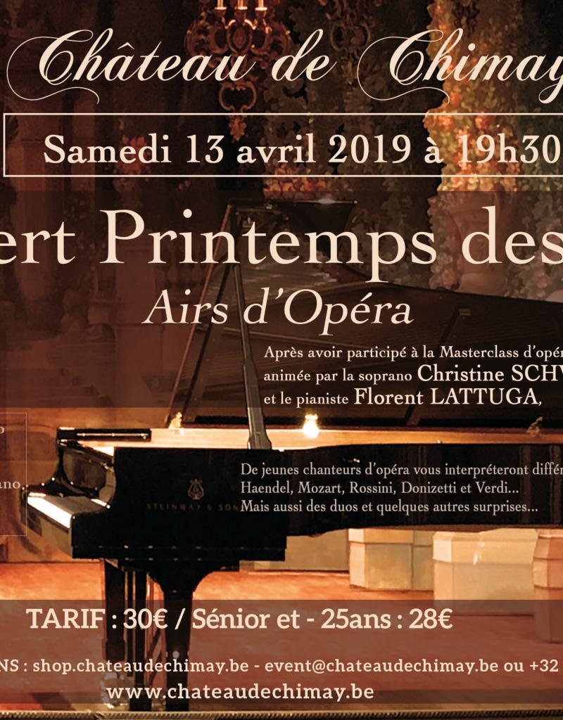 Concert Printemps des Voix - Masterclass 13/04/19