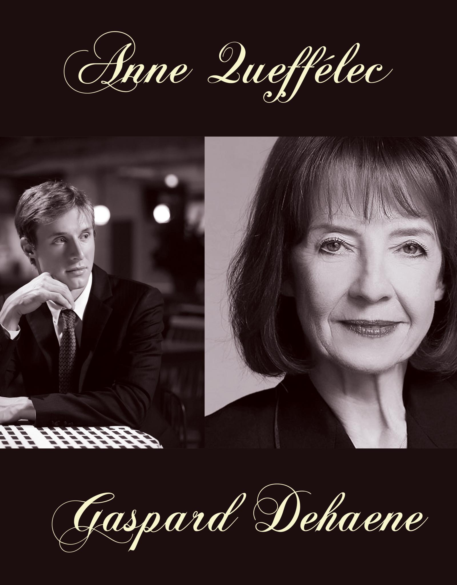 Concert Anne Queffélec & Gaspard Dehaene 28/11/2020