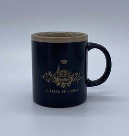 Château de Chimay Mug noir/or