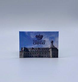 Château de Chimay Magnet métal rectangulaire Château de Chimay