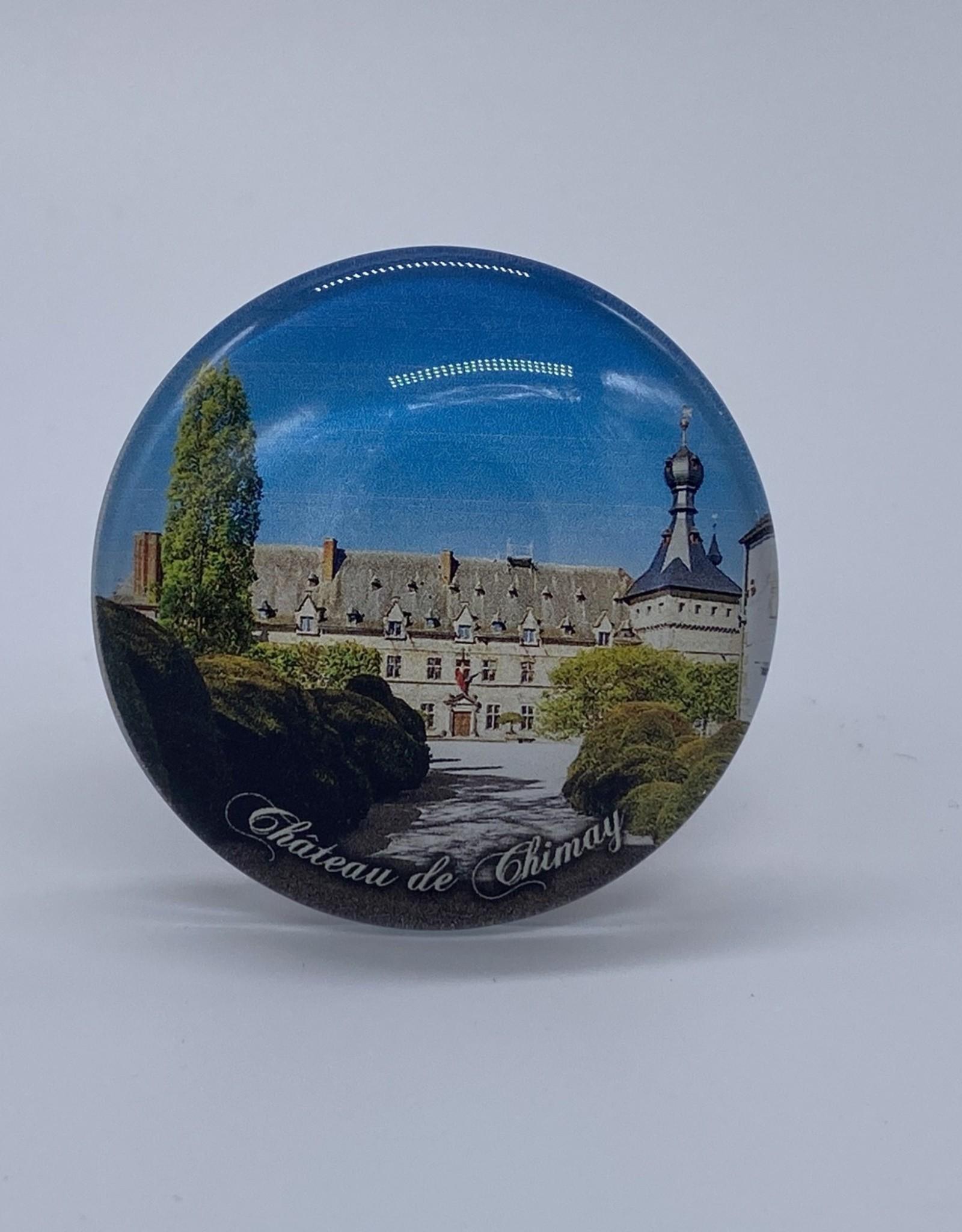 Château de Chimay Magnet globe acryl Château de Chimay