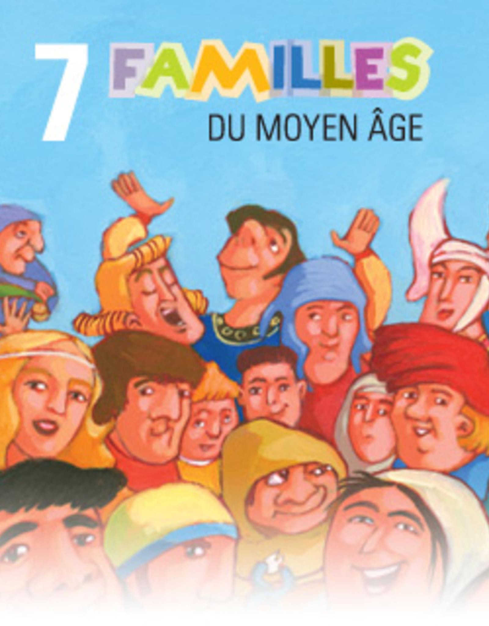 Jeu 7 familles Moyen-Age