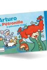 L-Arturo et Pétronille Princesse rouge