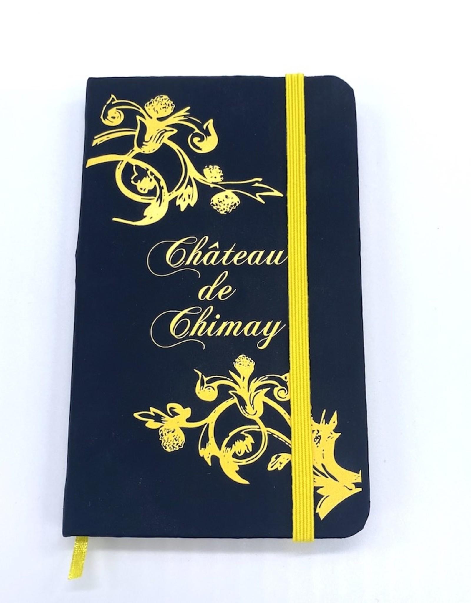 Château de Chimay Carnet de note noir/couleur
