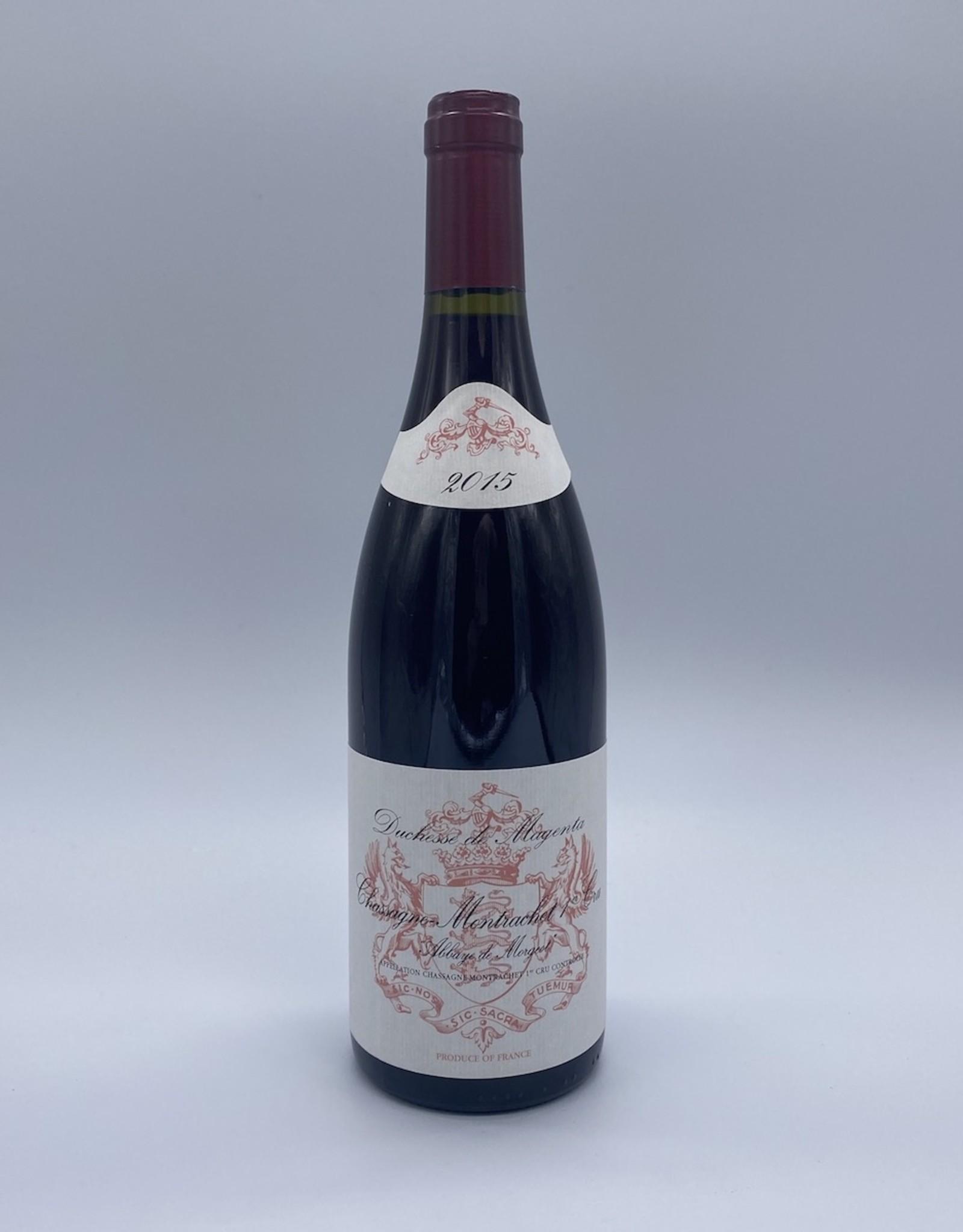 Duchesse de Magenta Bout.vin rouge Chassagne Montrachet 1er cru 2015